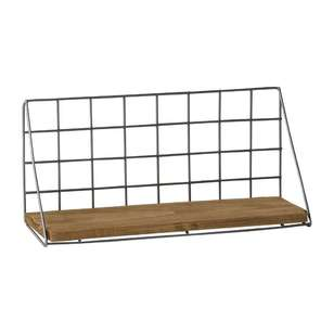 Francheville Raw Wire Mesh Shelf