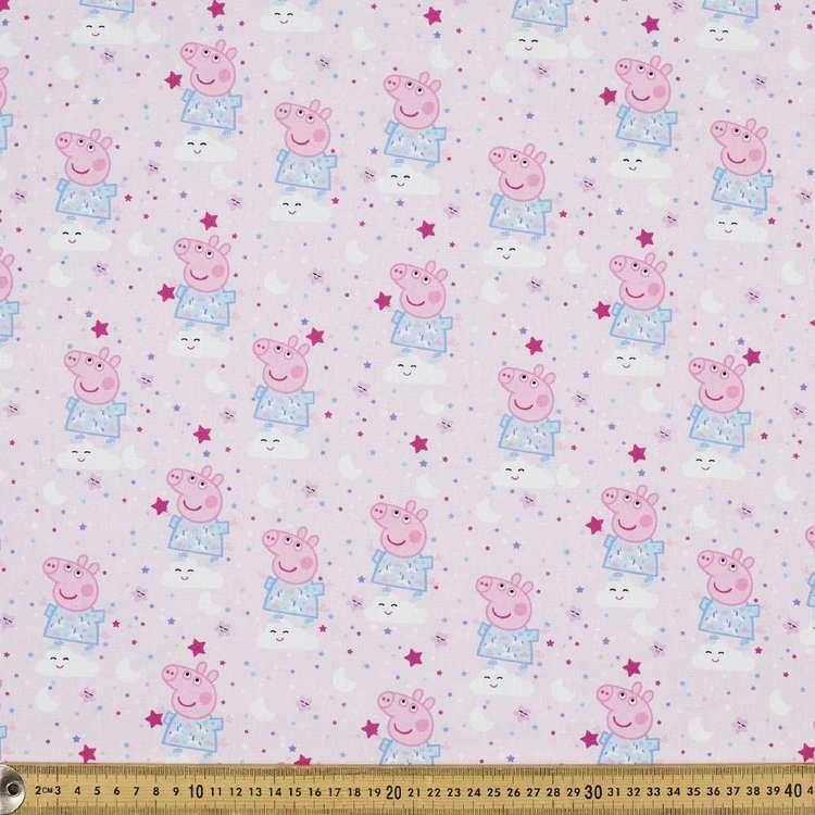 Peppa Pig Digital Allover Cotton Fabric