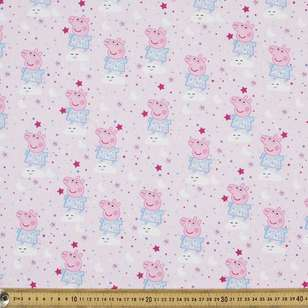 Peppa Pig Digital Allover Cotton Fabric