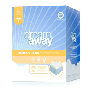 Dream Away Memory Foam Topper
