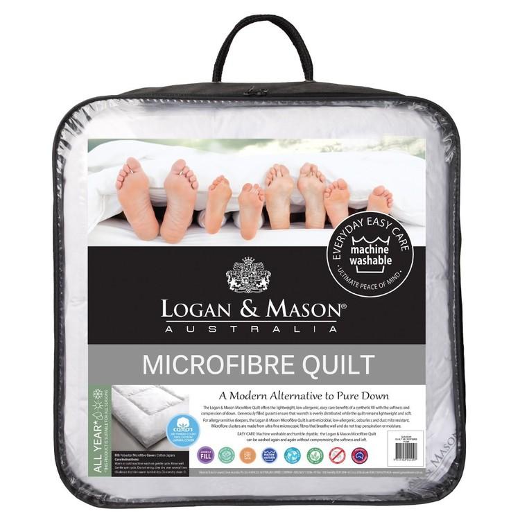 Logan & Mason Microfibre Quilt