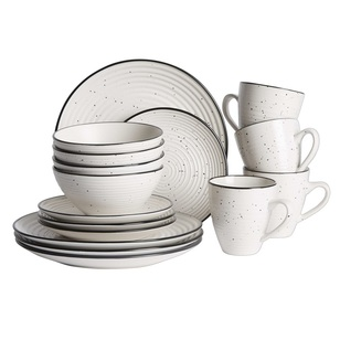 Culinary Co Ripple 16 Piece Dinner Set