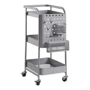 Francheville Charleston Trolley With Pegboard