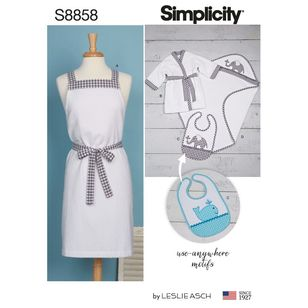 Simplicity Sewing Pattern S8858 Famiy Bath-Time Accessories