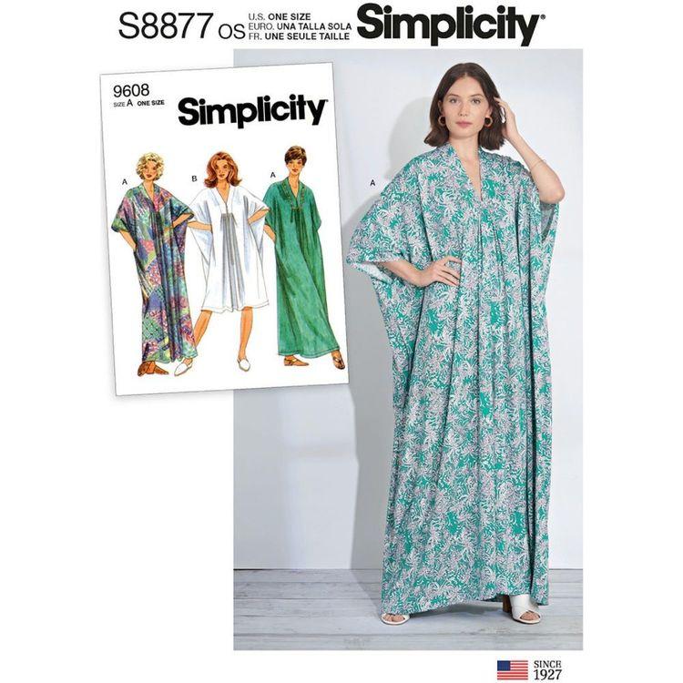 Simplicity Sewing Pattern S8877 Misses' Caftan