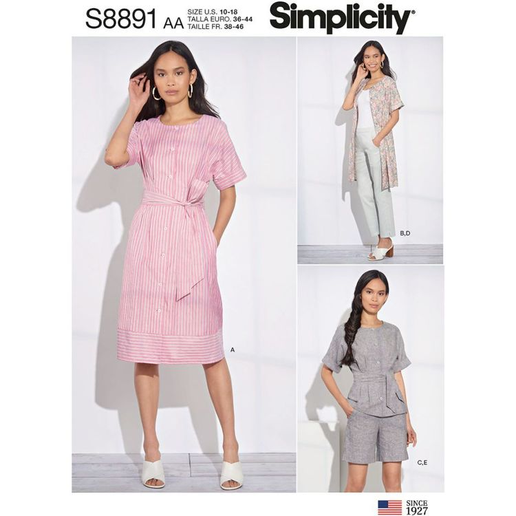 Simplicity Sewing Pattern S8891 Misses'/Women's Sportswear