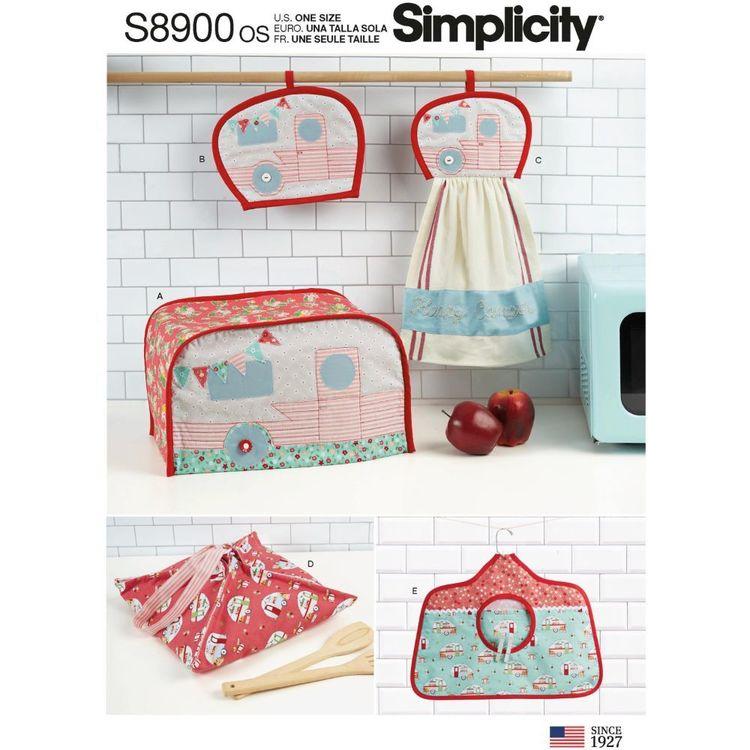 Simplicity Pattern S8900 Kitchen Accessories