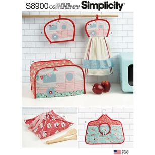 Simplicity Pattern S8900 Kitchen Accessories