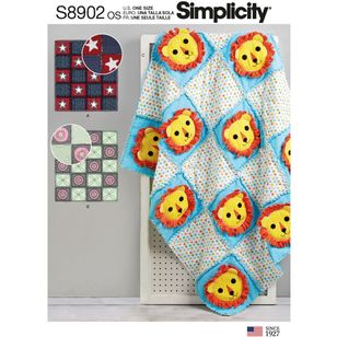 Simplicity Sewing Pattern S8902 Rag Quilts