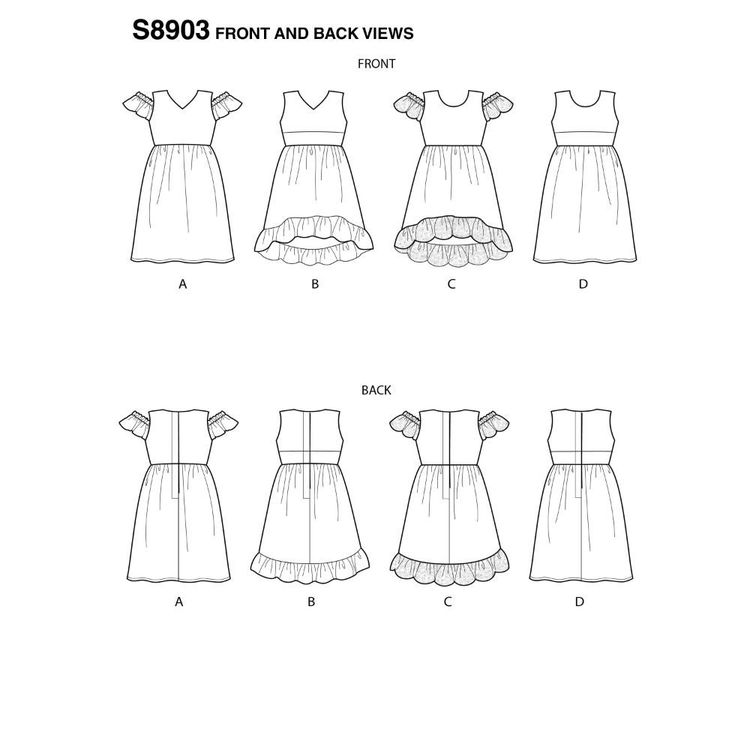 Simplicity Sewing Pattern S8903 18