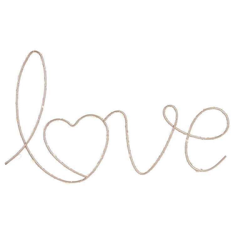 Bouclair Love LED Wall Decor
