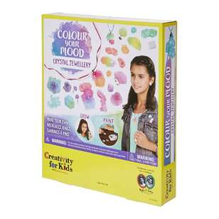 Creativity For Kids Colour Your Mood Crystal Jewellery Kit