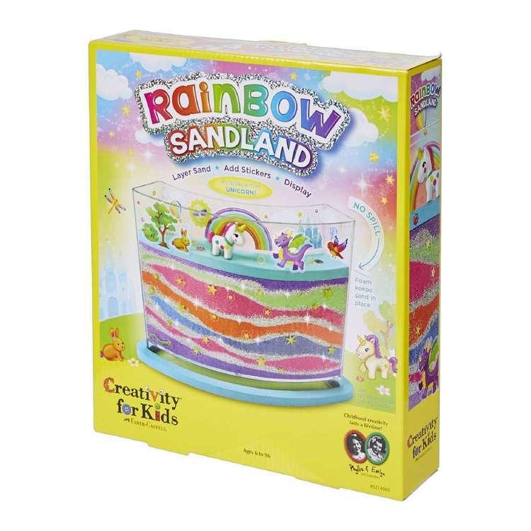 Creativity For Kids Rainbow Sandland Kit