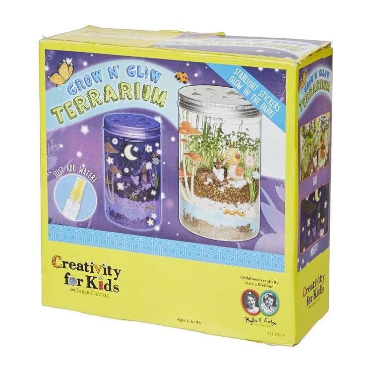 Creativity For Kids Grow & Glow Terrarium Kit