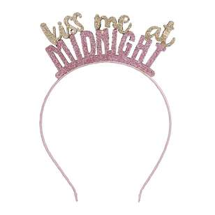 NYE Kiss Me At Midnight Headband