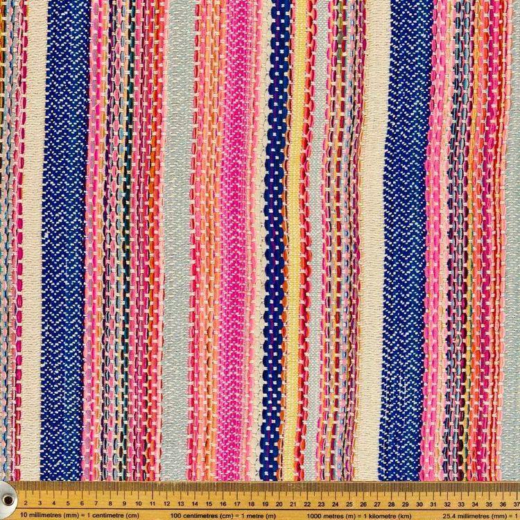 Mexico Woven Stripe Fabric Sold per Metre