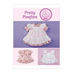 Kwik Sew Pattern K0263 Ellie Mae Designs Baby Dress and Pinafore