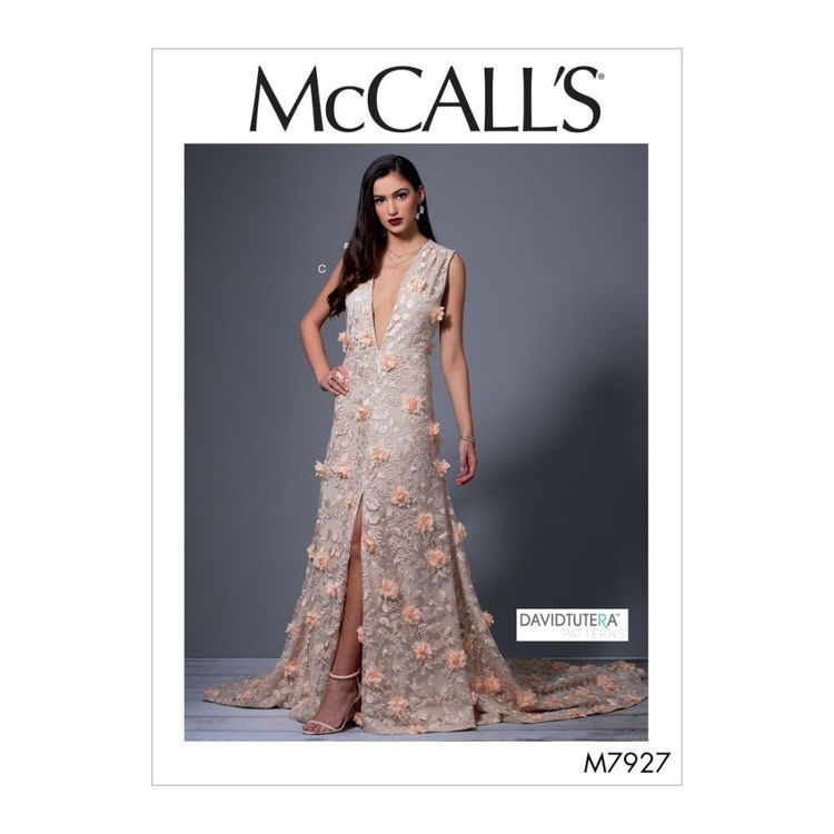 McCall's Pattern M7927 David Tutera Misses' Special Occasion Dresses