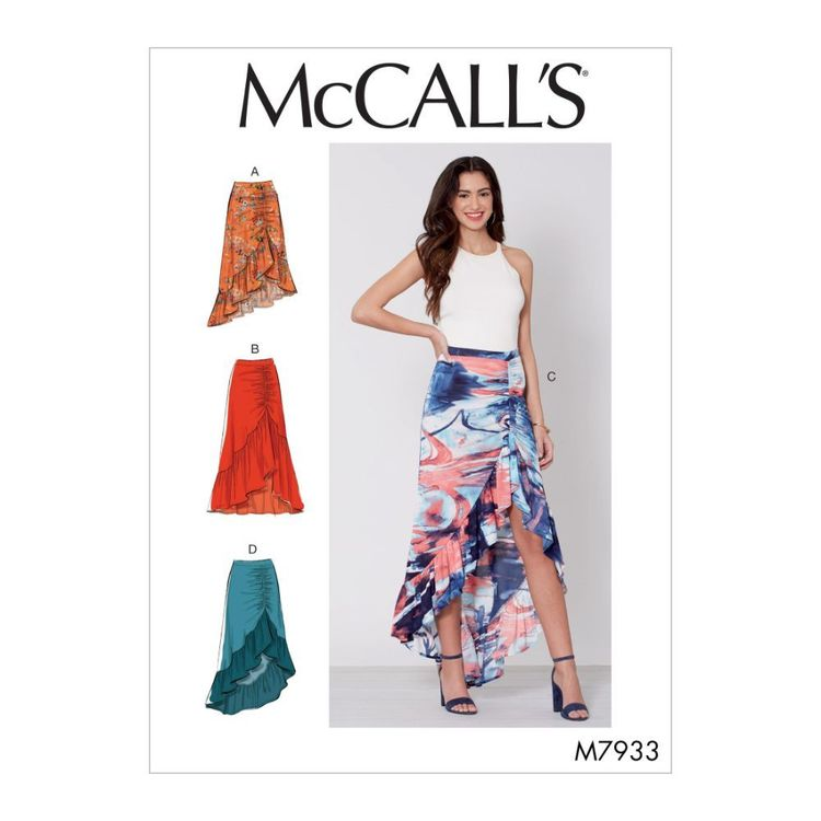 McCall's Pattern M7933 Misses' Skirts