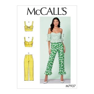 McCall's Pattern M7937 Misses' Tops and Pants