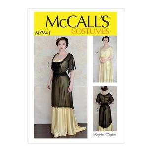 McCall's Pattern M7941 Angela Clayton Misses' Costume