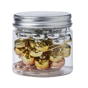 Safety Pins With Jar 84 Pack