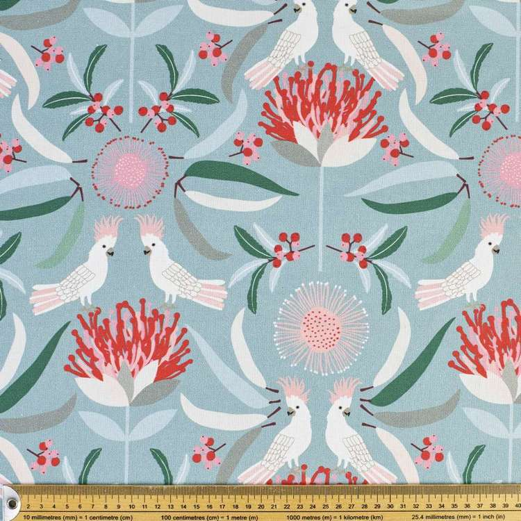 Jocelyn Proust Cockatoo Luxe Curtain Fabric