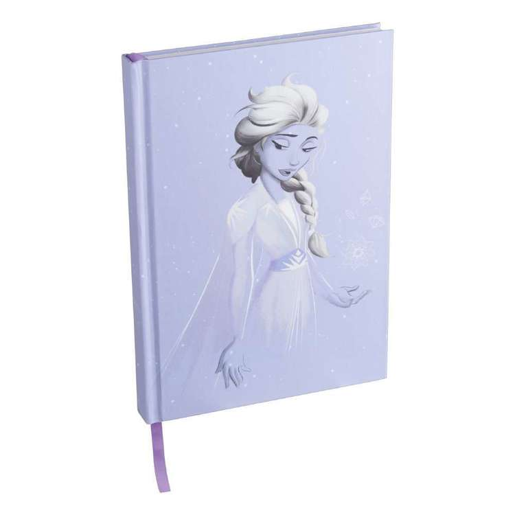 Impact Frozen 2 Elsa Lilac A5 Notebook