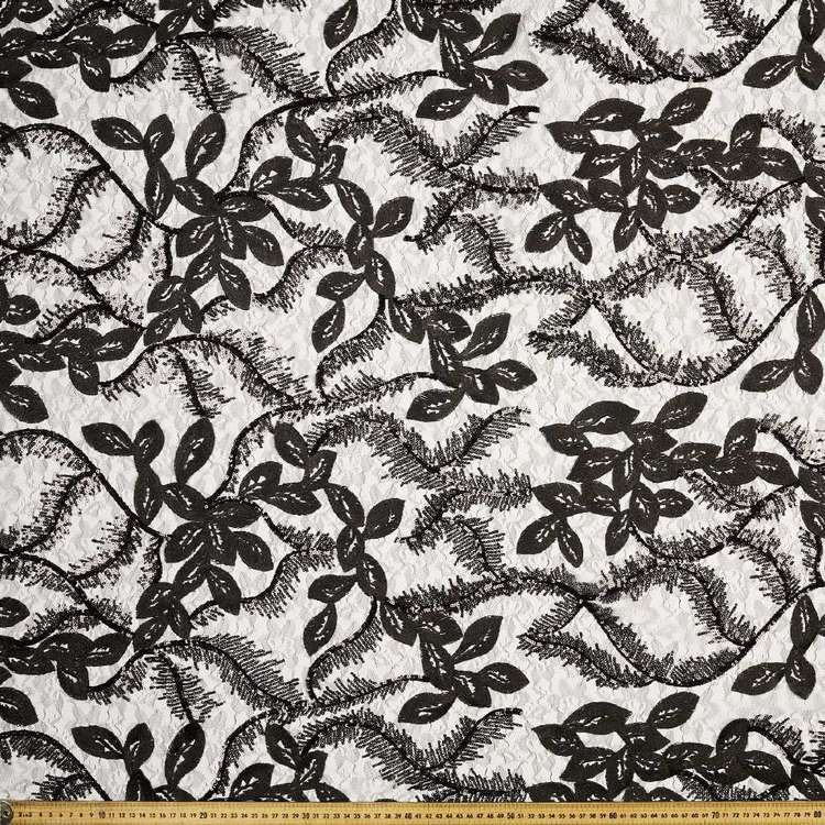 European C2 Paisley Sequin 130cm Fabric