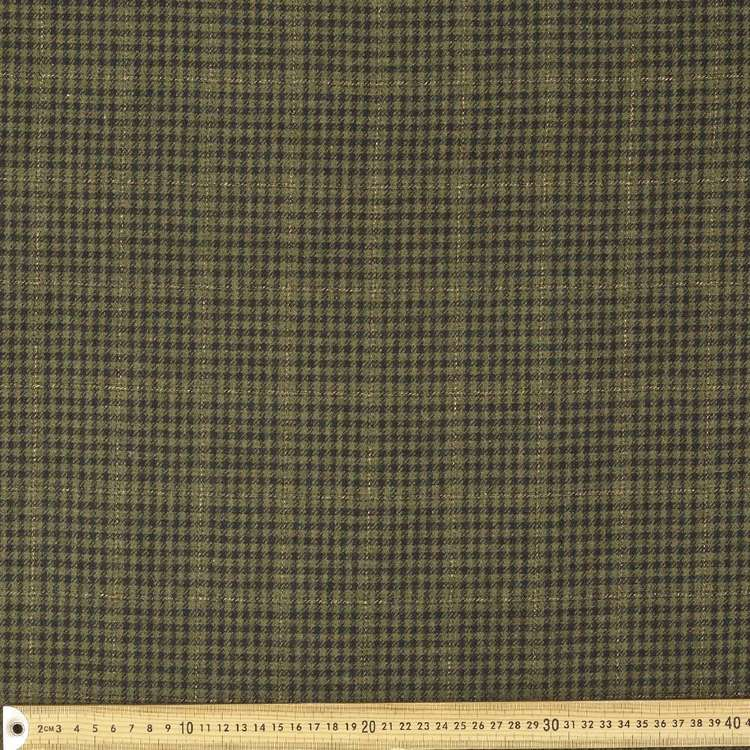 Wool Blended 145 cm Houndstooth Suiting Fabric