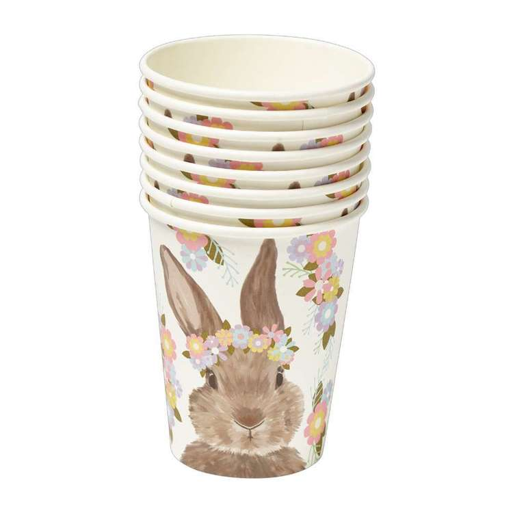 Happy Easter Rosie Paper Cup 8 Pack
