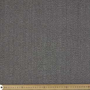 Wool Blended 145 cm Tweed Suiting Fabric