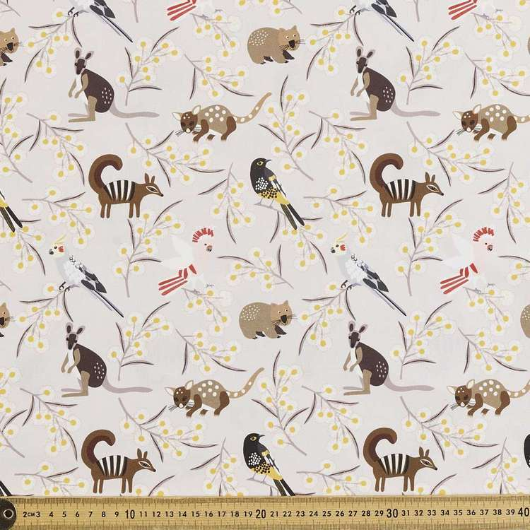 Jocelyn Proust Digital All Animals Cotton Fabric