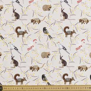 Jocelyn Proust Digital All Animals Cotton Fabric