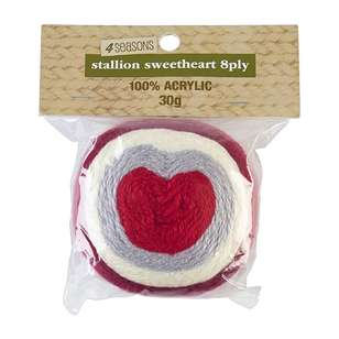 4 Seasons Stallion Sweetheart Acrylic Yarn