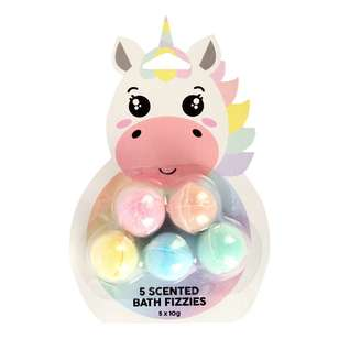 Unicorn Scented Bath Fizzies 5 Pack