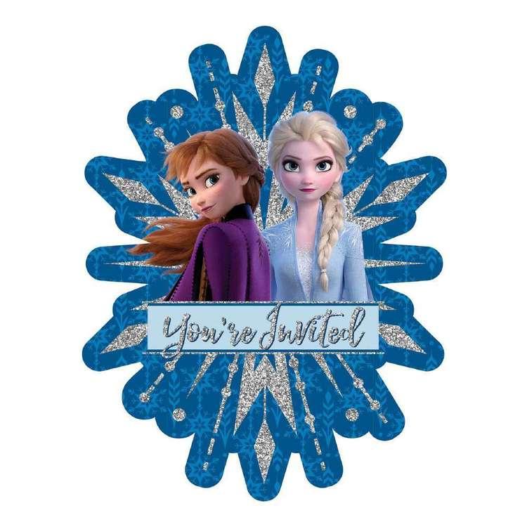 Frozen 2 Jumbo Deluxe Invites 8 Pack