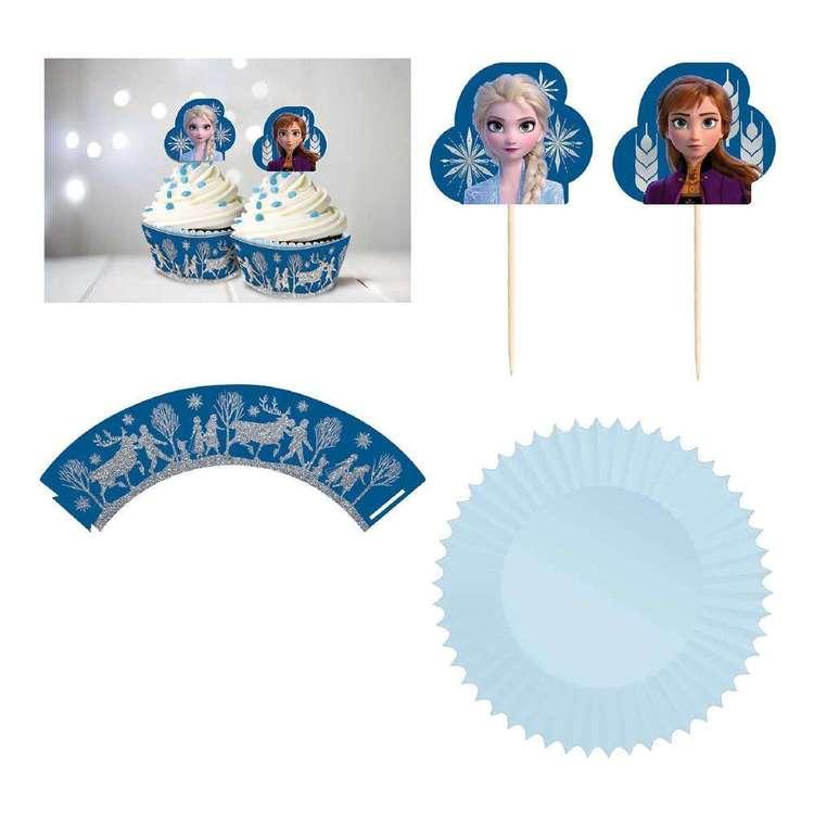 Frozen 2 Glitter Cupcake Kit