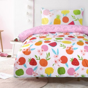 Kids House Fruit Quilt Cover Set