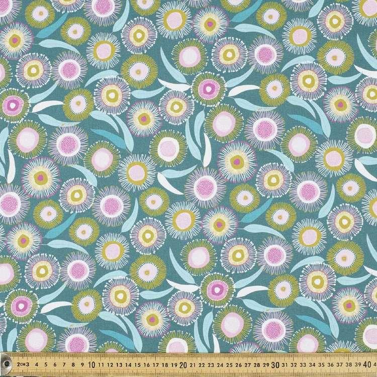Jocelyn Proust Digital Gum Blossom Cotton Fabric