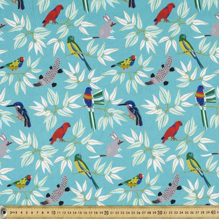 Jocelyn Proust Digital All The Animals Cotton Fabric