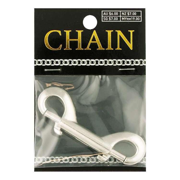 Double Parrot Clasp Chain