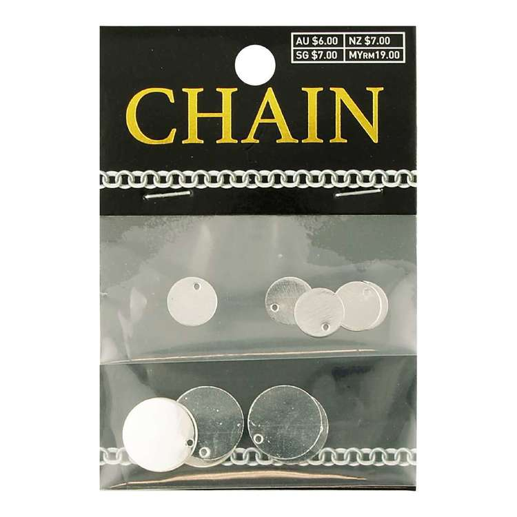 Circle Charms 10 Pack