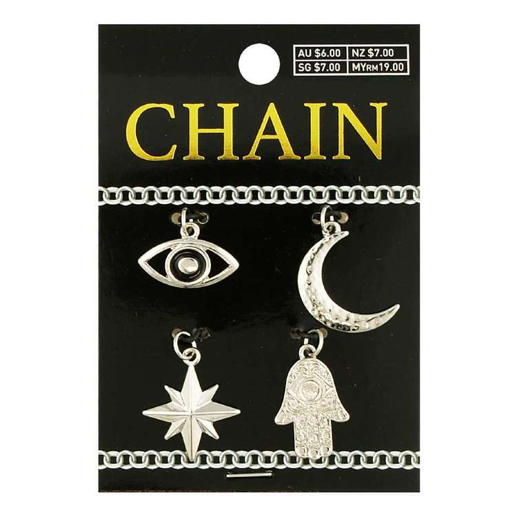 Celestial Charms Chain 4 Pack