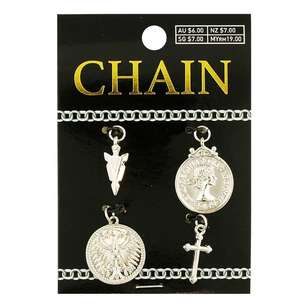 Chain Mixed Charms 4 Pack
