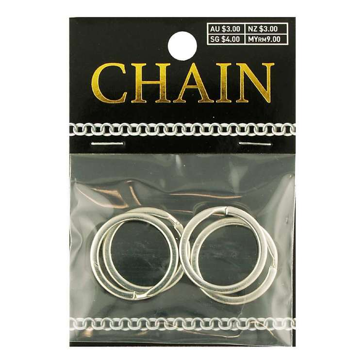Split Rings Chain 4 Pack