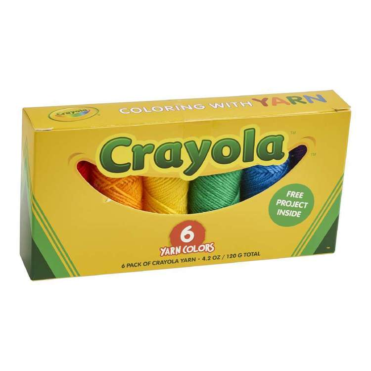 Crayola Yarn Box