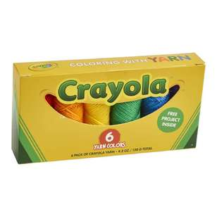Crayola Yarn Box