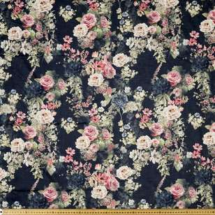 Old Treasures Digital Printed 135 cm Lawn Fabric