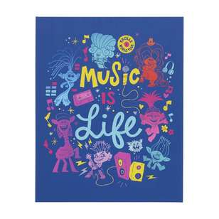 Impact Posters License Trolls Music Is Life Canvas Print